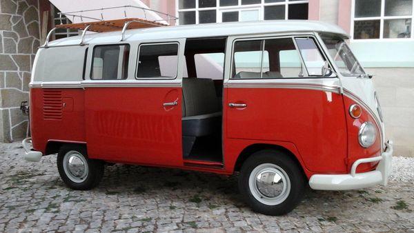 Oldtimer VW T 1 Baujahr
