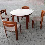 Sitzgruppe aus Mahagoni Tisch 4