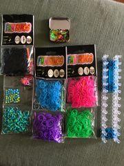 Loom Set mit Gummis Verbindungen