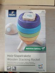 Holz-Stapelrakete