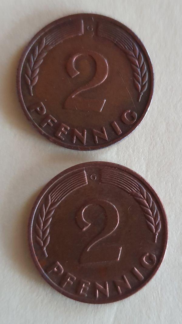 Deutsche Münzen