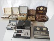 alte Tonbandgeräte - Tonbandmaschinen Grundig Sony