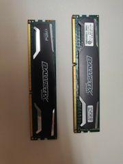 2x 4GB Dddr3 Ram 1600Mhz