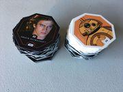 Star Wars Sammelkarten Konvolut Rewe