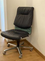 Girsberger Trilax6 Bürodrehledersessel gebraucht super