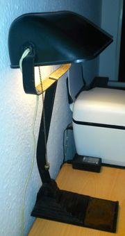 Antike Bürolampe