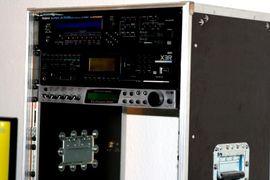 PA, Licht, Boxen - Case Tonstudio Rack-System Flightcase PA