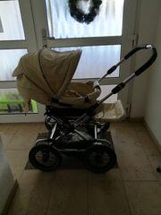 Umfangreiches Emaljunga-Kinderwagen-Set mit Sportaufsitz Buggy
