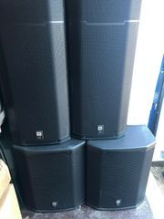 2 JBL PRX425 Passive Lautsprecher