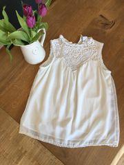 Weiße Bluse Top von Vero