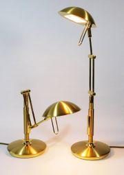 Zwei Schreibtisch- Leseleuchten dimmbar