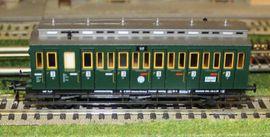 5092 Fleischmann DRG Abteilwagen 3-achs: Kleinanzeigen aus Reinfeld - Rubrik Modelleisenbahnen