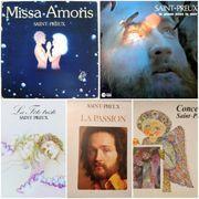 5 Klassik-Schallplatten LPs von SAINT-PREUX