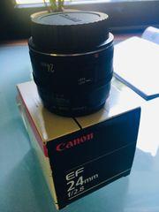 Canon 24mm Vollformat Weitwinkel