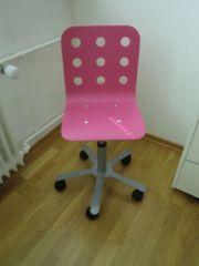 Kinder Schreibtischstuhl Ikea pink