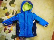 Kinderjacke Winterjacke Gr 98 blau