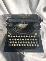 Antike Schreibmaschine Mercedes Prima für