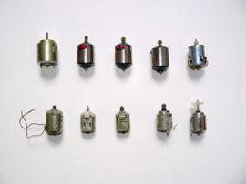 Werkzeuge, Zubehör - 10 verschiedene Elektromotoren