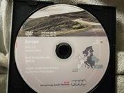 Navi DVD Map Audi Straßenkarte