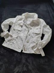 Airfield Jeans-Jacke weiß - Größe 38