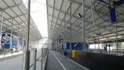 Stahlkonstruktionen und Bau von Produktionshallen