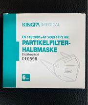 FFP 2 Masken CE-Zertifizierung 6-er
