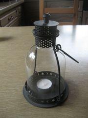 Metall Laterne Lampe Leuchte mit