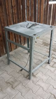 Verkaufe Tischkreissäge gebraucht leicht funktionsfähig
