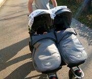 TFK Zwillingskinderwaagen Twin Adventure