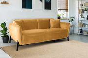 Andas 2-Sitzer Sofa gold Ravenna