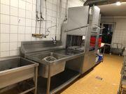 Spülmaschine Industriespülmaschine Reinigungsanlage Hochstätter GE115