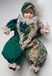Kasper-Puppe Harlekin-Puppe