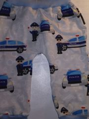 Pumphose Polizei hellgrau Gr 68