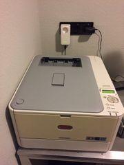Oki C310dn Farblaserdrucker mit neuen