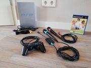 -auch einzeln- PS2 Konsole 2