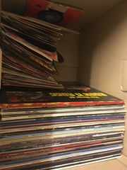 Schallplatten LP u Single