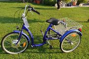 Dreirad mit Motor