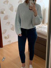 Crop Pullover Größe 38 Pulli