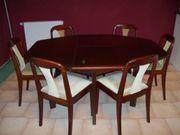Tischgruppe 7 - teilig gebraucht