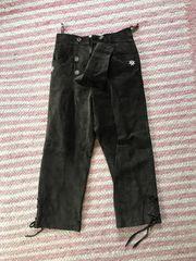 Damen Trachten-Lederhose Gr 36