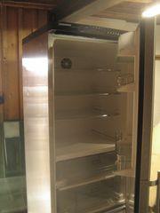 Kühlschrank in Edelstahl