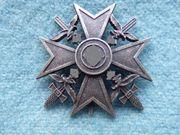 Orden Spanienkreuz in Silber mit