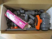 PVC Fittings Kugelhähne Schrägsitzventile für