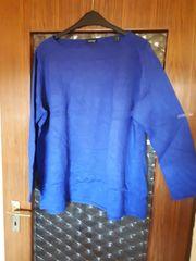 Pullover Gr 52 54 Königsblau