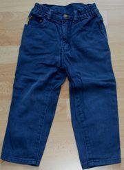 Royal-blaue Jeans-Hose - Größe 92 - modern -