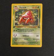 Pokemon Karte Parasek 1 Edition