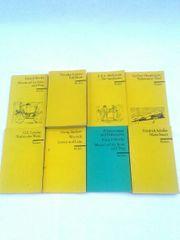 8 Taschenbücher Erzählliteratur von Reclam