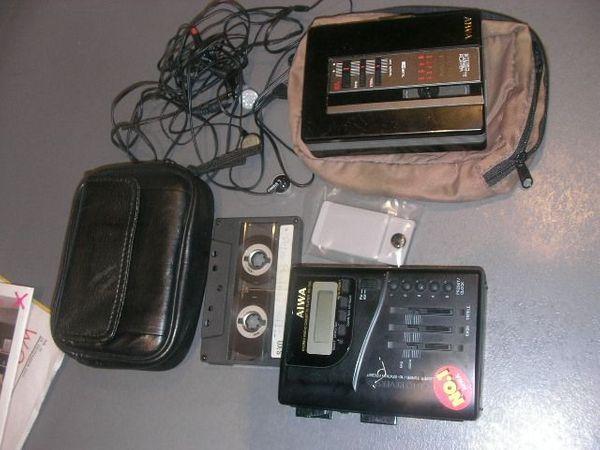 2 Stk Aiwa Walkman