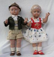Schildkröt Puppen Hans und Inge