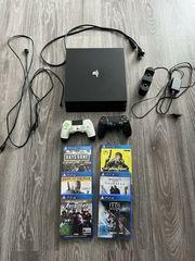 PlayStation 4 Pro 1TB mit